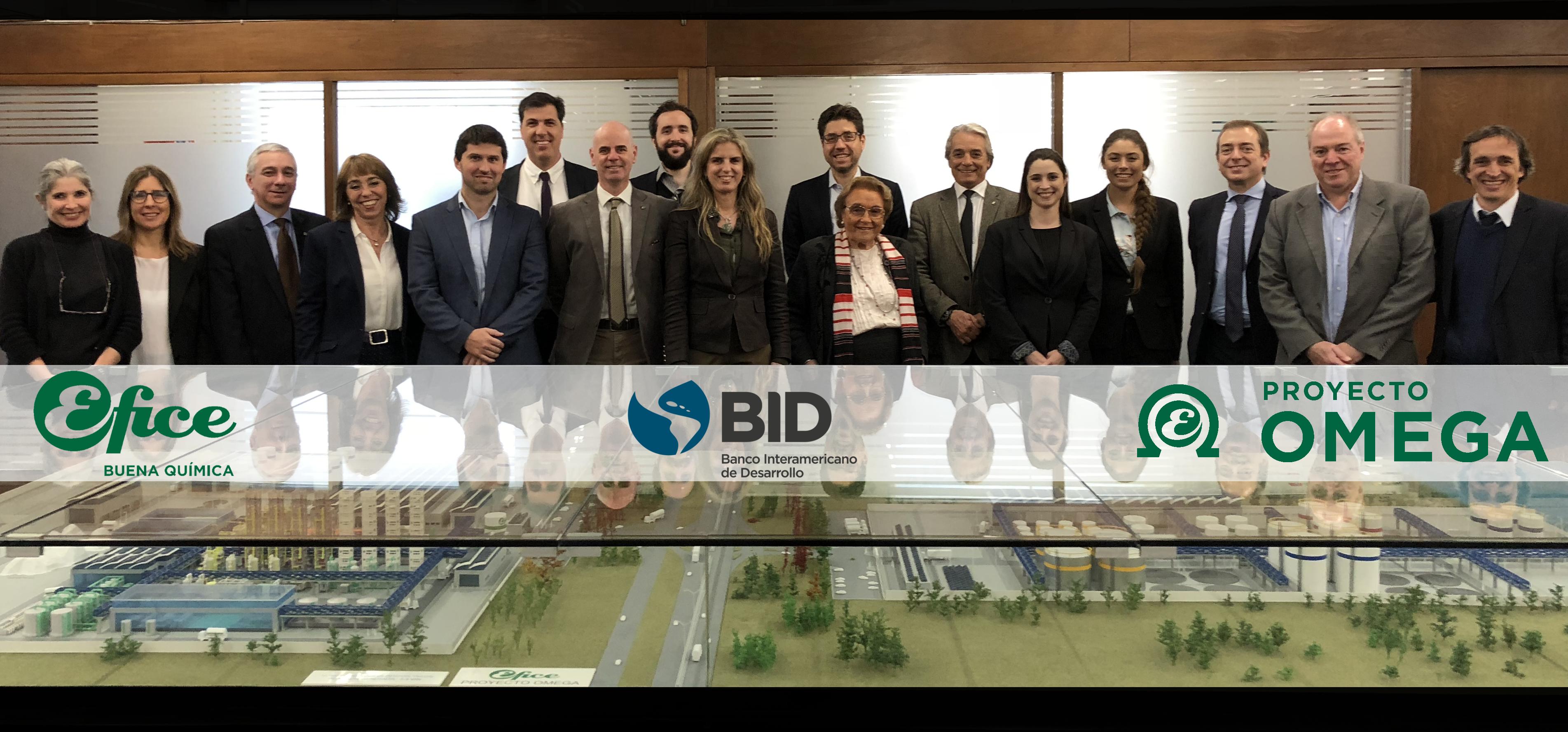 Visita de la delegación del BID (Banco Interamericano de Desarrollo)