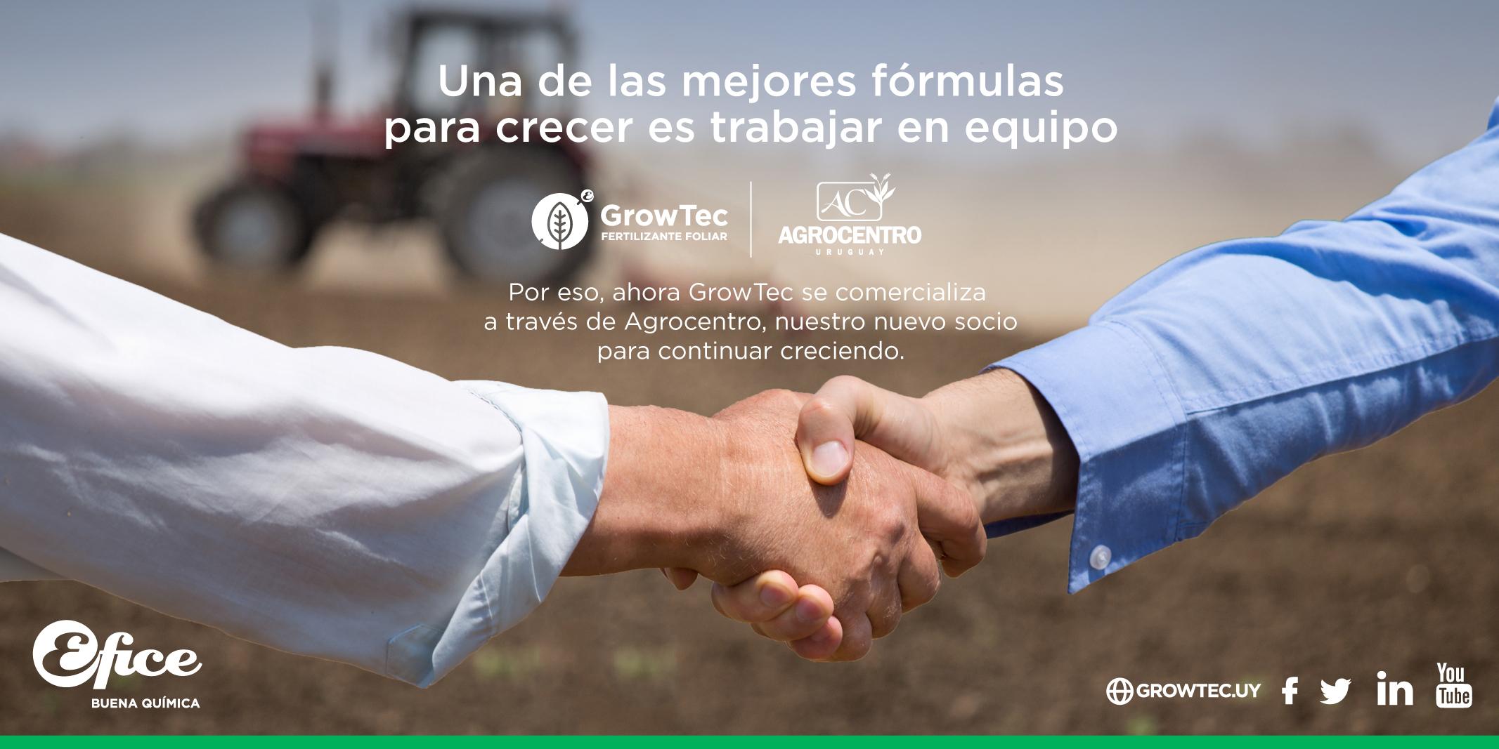 Agrocentro y Efice se unen para hacer crecer el país
